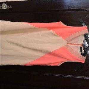 Pink and cream mini dress, SugarLips, size Small